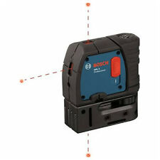 Bosch GPL 3 Three Point Self-Leveling Plumb Laser with Carrying Case