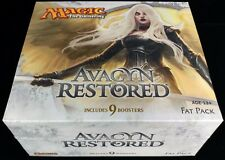 AVACYN RESTORED sealed FAT PACK Magic the Gathering MTG Cavern of Souls FOILS **