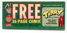 Terry Adventure #1, 2 and 3    Canada Dry Comic Giveaway Books