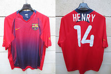 VINTAGE Maillot BARCELONE BARCELONA camiseta HENRY n°14 NIKE shirt collection M