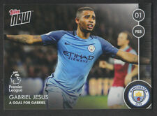 Topps Now Premier League 2016/17 # 48 Gabriel Jesus - Manchester City - Rookie