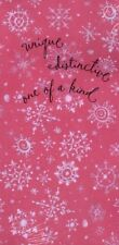 Pink Holiday Hallmark Gift Card Christmas Money Holders - New In Package
