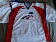 Nike Authentic France French Hockey jersey Philippe Bozon sz 54 RARE 90s Vintage