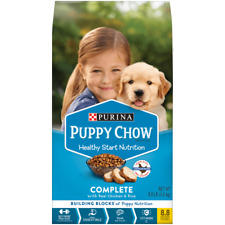 Purina Puppy Chow Dry Dog Food Complete With Real Chicken & Rice 8.8 lbs