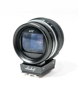 Linhof 9x12 / 4x5 Universal Finder For 75-360mm Lens