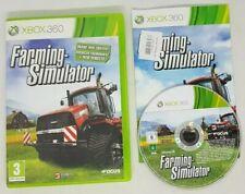 Farming Simulator (Microsoft Xbox 360, 2013) very good cond FAST FREE POST