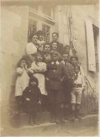 Snapshot Fotografia Amateur Famille Vintage Analogica Ca 1900 N7