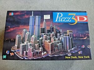 Puzz 3D Hasbro FACTORY SEALED New York New York TWIN TOWERS jigsaw puzzle