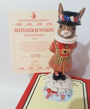 New ListingRoyal Doulton Bunnykins Db163 Beefeater Limited Edition