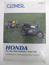 HONDA   NOS 50-110cc OHC SINGLES 1965-99 CLYMER SERVICE-REPAIR MANUAL Guidebook