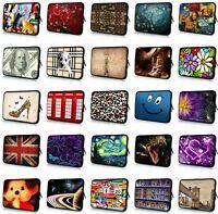 """Many Design 10"""" 10.1"""" 10.2"""" 9"""" Laptop Sleeve Netbook Bag Case Cover Tablet Case"""