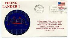 1976 Viking Lander 1 Planet Mars Exploration Hampton Newport News Virginia NASA