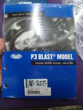 Harley 2006 Buell P3 Blast parts catalog manual 99573-06Y NOS EP13823