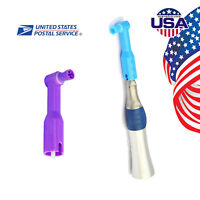 USA Dental Straight Handpiece + 100pcs Disposable Dental Prophy Angles Soft Cup