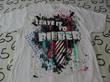 Small- Leave It To Bieber T- Shirt