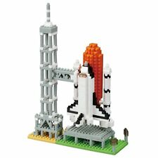 Nano block space shuttle launching base NBH - 131 from Japan