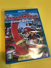 Paper Mario: Color Splash - Nintendo Wii U - New and Sealed - French Box Colour