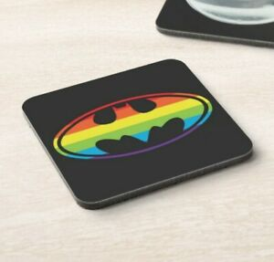 Lgbt - Pride - Batman - Drinks Coaster