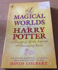 MAGICAL WORLDS OF HARRY POTTER David Colbert Book (Paperback)