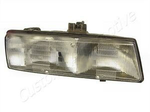 88-91 PONTIAC BONNEVILLE RH HEADLIGHT 16509658 passenger right head light lamp