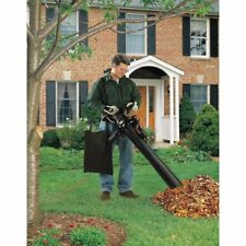 12-Amp Leaf Blower Vacuum Mulcher BV3100 Black & Decker 210 Mph Blow Speed Clean