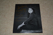 Lisa Loring SIGNED AUTOGRAFO in persona 20x25 cm Addams Family Wednesday