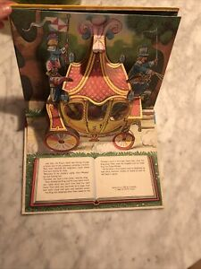 vintage pop up books 70s Puss In Boots Perfect Condition childrens book