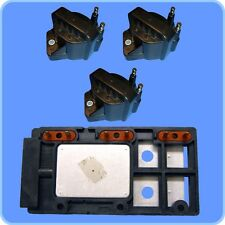 Ignition Control Module + (3) High Performance Ignition Coils for Chevy GMC 3.8L