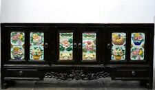 Lowboard Holz Kommode Sideboard massivholz chinesische Möbel TV Schrank antik