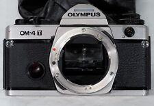 BOITIER REFLEX OLYMPUS OM-4 Ti