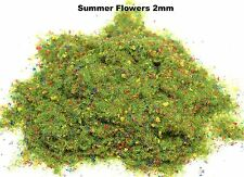 WWS Sommer Wiese Blume 2mm Mix Modell Basing Static Grass 100g G, O, HO / OO, N