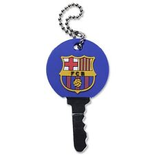 FC Barcelona Rubber Key Cover / Cap with Raised Badge - Ideal Football Gift
