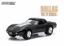"""Greenlight: 1978 Chevy Corvette C3 from """"Dallas"""" TV Series 1/64 Scale"""