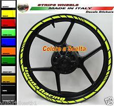 Adesivi per ruote honda CBR profili cerchi Honda racing colore a scelta