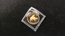 $10 Singold Singapore 1/10 oz Gold Coin 1985 Year of the Ox