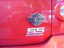 Harley Davidson Pickup Truck Fender Trim Bar and Shield FLAT Chrom/Black Plastic