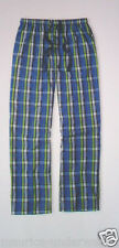 GÖTZBURG Schlafanzughose Gr. XXL/56 Popelin Pyjama-Hose Canvas blau kariert