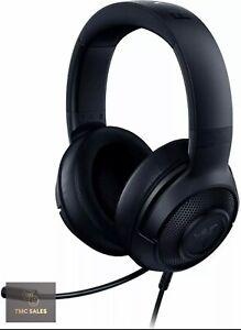 Razer Kraken X Lite 7.1 Surround Sound Black Gaming Headset, RZ04-02950100-R381