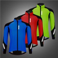 Thermal Cycling Jacket Winter Bicycle Windproof Reflective Coat Bike Men Gifts