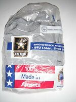 US ARMY PT Physical Fitness IPFU Gray T-SHIRT Size X Small Short Sleeve