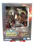 World of Warcraft Action Figure Orc Warrior Garrosh Hellscream DC Unlimited NIB