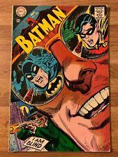Batman #205 (DC 1968) Blind as A Bat~Last Schemer~Frank Robbins Story~Silver Age