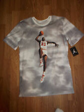 Men's Nike Jordan Fly Over the Clouds CottonT-Shirt Size 2XL (725004 100)