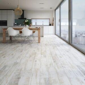 Whitewash Wood Effect Tiles 15 x 90cm R11 Anti slip
