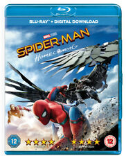 Spider-man Homecoming Blu-ray 2017 Region DVD Jon Favreau