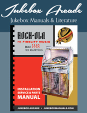 NEW! Rock-Ola 1448 Complete Installation, Instruction & Parts Service Manual