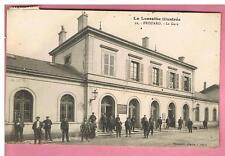 CPA  - FROUARD -  54 -  LA GARE