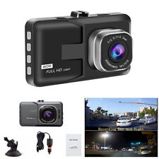 "3"" Car DVR Full HD 1080P Digital Video Recorder G-Sensor Dash Cam Camcorder 170°"