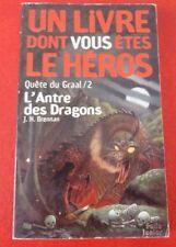 Pocket French Book Livre Dont Vous êtes le Héros L'antre des Dragons
