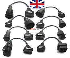 8 Cables Set for Trucks Autocom TCS CDP Delphi Ds150 /diagnostic DAF SCANIA